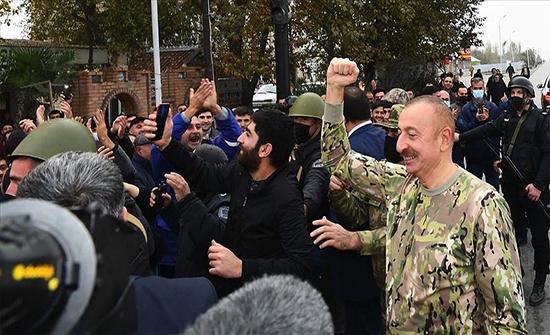 رئيس أذربيجان: أرمينيا ستحاسب دوليا على جرائمها