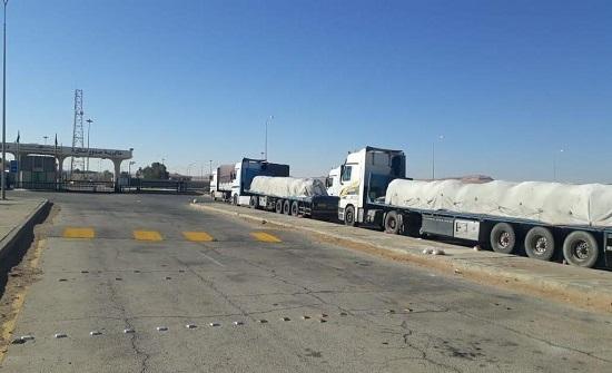 السماح بدخول شاحنات أردنية إلى السعودية