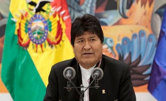 إعادة انتخاب موراليس رئيسا لبوليفيا
