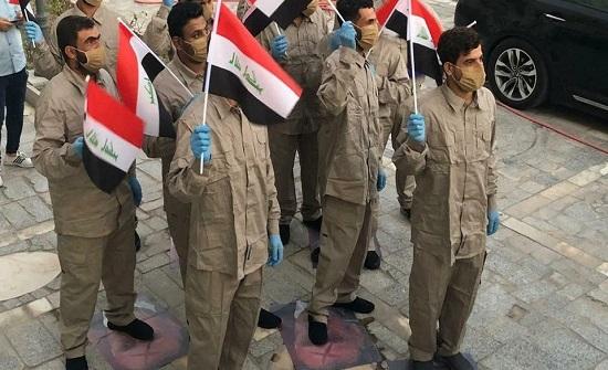 """مداهمة بغداد.. """"عنصر من حزب الله ما زال بعهدة القضاء"""