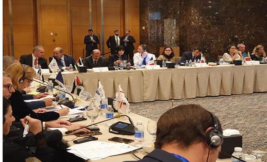 بخيت يفتتح أعمال الاجتماع السادس للجنة المراقبة المشتركة لبرنامج حوض المتوسط