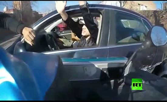 فيديو : مطاردة مثيرة بين الشرطة واللصوص في الارجنتين