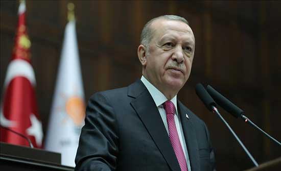 أردوغان: نواجه التهديدات على حدودنا بدعم ومساعدة شعبنا