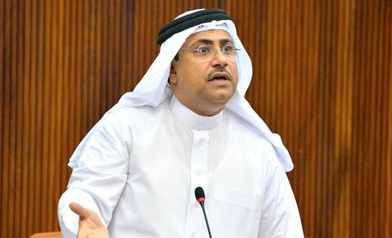 العسومي يهنئ عبد الله آل الشيخ بمناسبة تعيينه رئيساً لمجلس الشورى السعودي