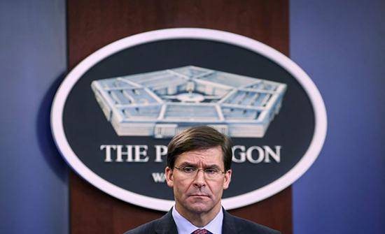 وزير دفاع أمريكا: كنا نظن أن انفجار بيروت سببه أسلحة حزب الله