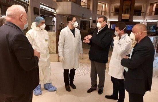 وزير الصحة يتفقد جاهزية الكوادر الطبية بفنادق الحجر الصحي