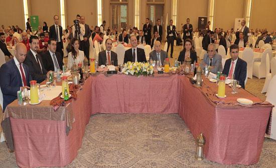 اللجنة الاولمبية تنظم حفل الافطار السنوي