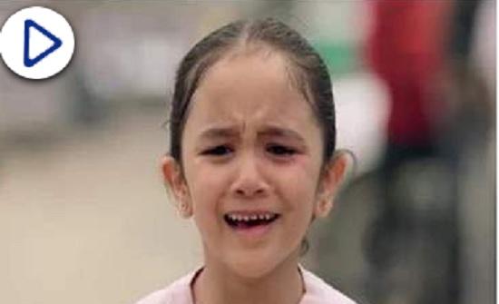 """انهيار """"أحمد زاهر"""" بسبب مشهد طرد الطفلة """"مريم"""" في مسلسل """"البرنس"""""""
