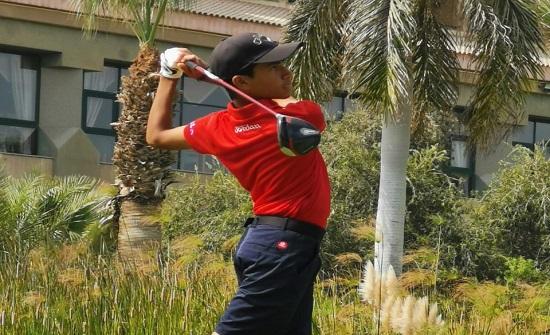 لاعب منتخب الجولف سلمان يحتل المركز الرابع بالبطولة العربية