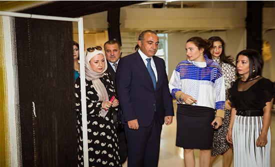 مندوباً عن الملكة رانيا العبدالله أمين عمان يفتتح فعاليات أسبوع عمّان للتصميم 2019