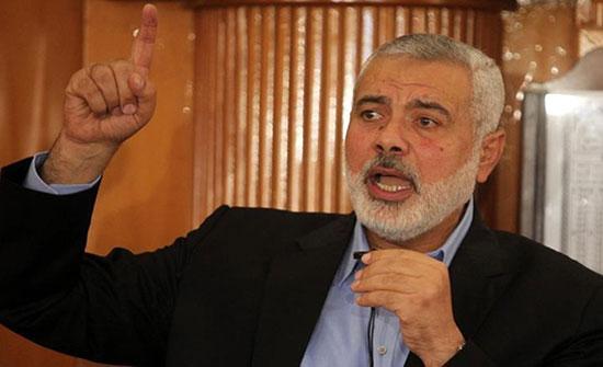 """هنية: معركة أمنية """"تحت الطاولة"""" بيننا وبين الاحتلال"""