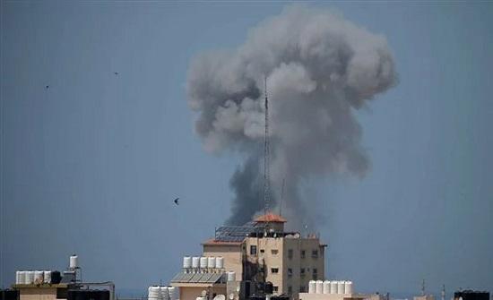 الاحتلال الإسرائيلي يعلن استهداف و تدمير 4 غرف عمليات لحركة حماس .. بالفيديو