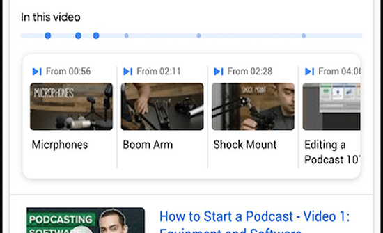 هل يمكنك البحث عن معلومة داخل فيديو؟ غوغل ترد