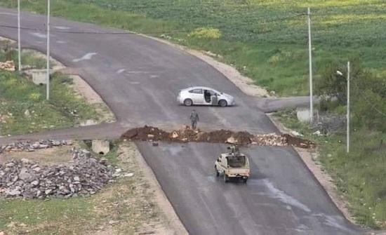 عزل منزلين في صمد والكريمة بمحافظة إربد