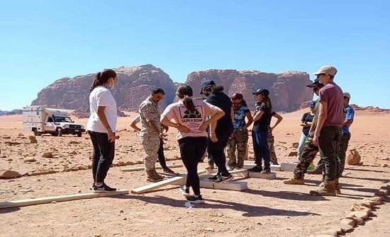 اختتام المخيم الشبابي لمشاركي جائزة الحسن للشباب