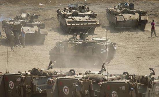 الاحتلال الاسرائيلي يتوغل جنوب غزة