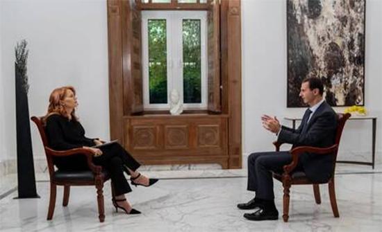 دمشق تنتقد الإعلام الأوروبي بسبب مقابلة مع الأسد لم تبث