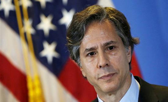 وزير الخارجية الأمريكي أنتوني بلينكن يجري أول اتصال منذ توليه منصبه