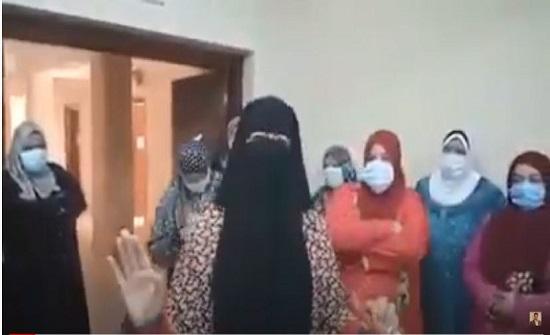 استغاثة من ممرضات مستشفى امبابة بسبب الاهمال الطبي .. بالفيديو