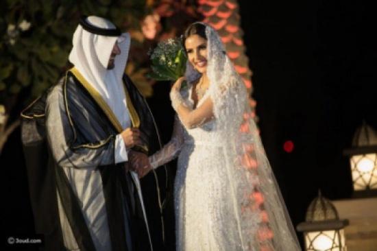بالصور: حفل زفاف اسطوري لـ الفاشينيستا السعودية ندى باعشن على ملياردير خليجي