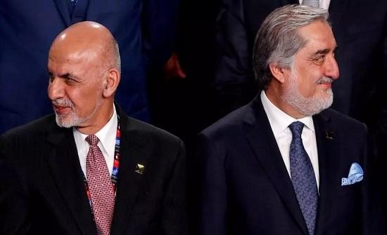 الرئيس الأفغاني ومنافسه عبد الله يوقعان اتفاقا لاقتسام السلطة