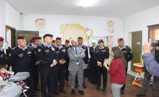 افتتاح حضانة اطفال للعاملات في إدارة المستودعات التابعة للامن العام