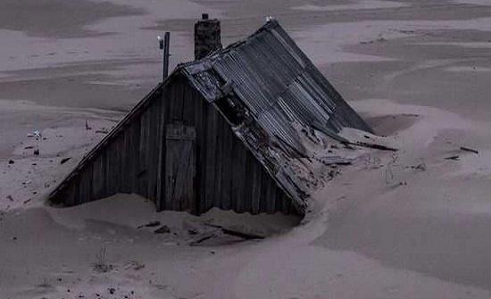دراسة: ساحل القطب الشمالي الكندي يتآكل بسرعة بسبب تغير المناخ