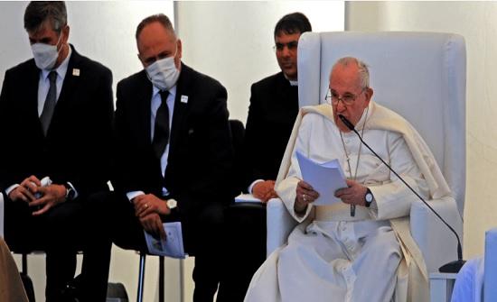 البابا من أور: لا يمكن الصمت عندما يسيء الإرهاب للدين