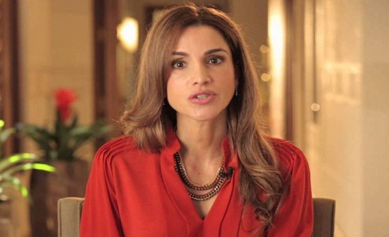 الملكة رانيا : عيد عامر بالمحبة والخير والطمأنينة لنا جميعا