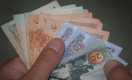 ارتفاع إجمالي الدين إلى 32.06 مليار دينار