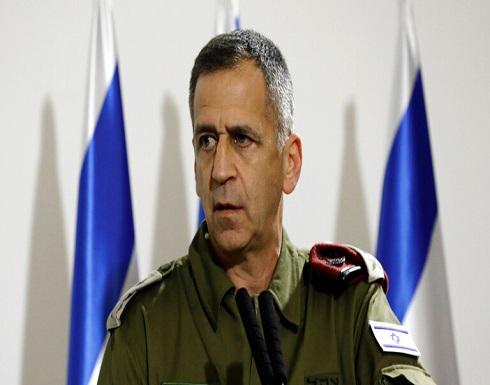 """رئيس الأركان الإسرائيلي يعاود تأكيد توجيه """"ضربة قاصمة"""" لحماس والجهاد الإسلامي"""