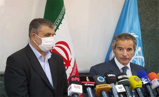 إيران والوكالة الدولية تتفقان على مراقبة المواقع النووية