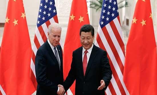 بايدن يجري أول اتصال مع شي جين بينغ منذ توليه الرئاسة الأمريكية