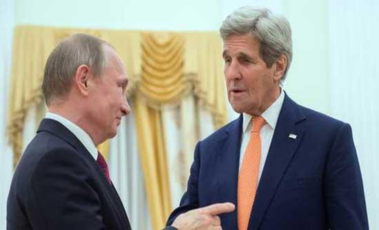 الكرملين: بوتين وكيري يؤكدان على وجود مواقف متقاربة لدى موسكو وواشنطن حول المناخ