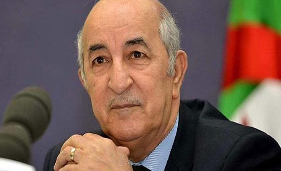 تبون: الحل في الملف الليبي بيد الشعب