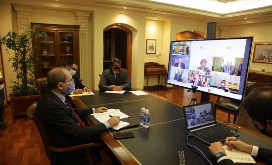 الصفدي يؤكد اهمية تكثيف الجهود للتوصل لحل سياسي يقبله السوريون
