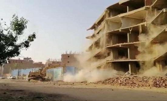 بالفيديو.. بعد تفجيرها.. إزالة 16 عقارا في الطالبية وكرداسة والوراق