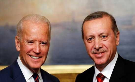 البيت الأبيض: بايدن سيبحث مع أردوغان الأوضاع في سوريا وليبيا