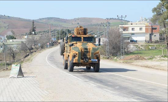 """تركيا تواصل قصف مواقع الإرهابيين في """"عفرين"""""""