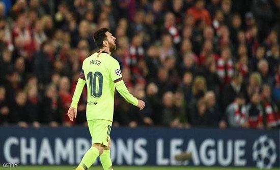 """ميسي يفاجئ جمهور برشلونة بـ""""خبر حزين"""""""