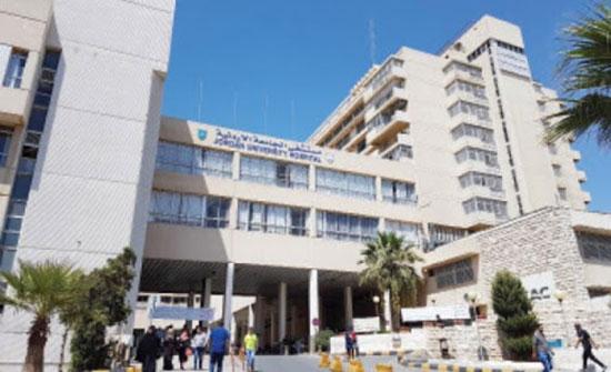 مستشفى الجامعة يواصل خطته التدريبية لمواجهة كورونا