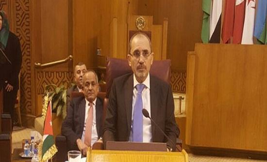 كلمة الصفدي في الاجتماع الوزاري العربي الخاص بالقدس