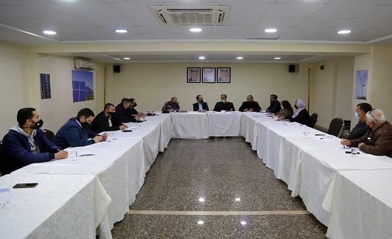 هيئة المكاتب تناقش تبسيط الإجراءات مع امانة عمان والدفاع المدني