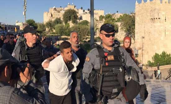 الاحتلال يقمع وقفة في سلوان ويعتقل شابا والامم المتحدة تندد بعمليات الهدم في حي البستان