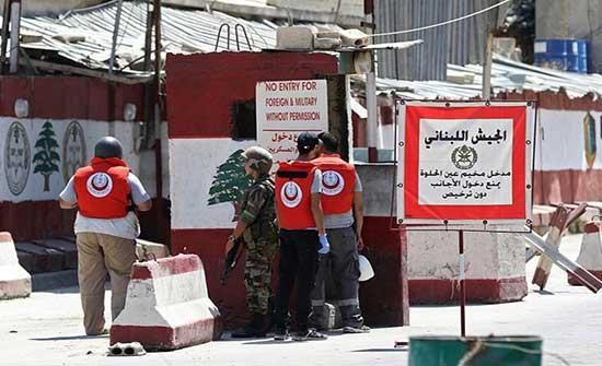 """إصابات باشتباك مسلّح داخل مخيم """"عين الحلوة"""" في لبنان"""