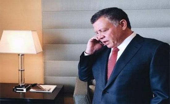 الملك يبحث في اتصال هاتفي مع أمير قطر العلاقات الثنائية