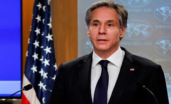اعتبر أن العملية ستستغرق وقتا.. بلينكن: سحب القوات الأجنبية من ليبيا سيبدأ قريبا
