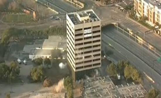 كاميرات تسجل لحظة تفجير فاشل في دالاس الأمريكية..فيديو