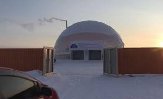 شاهد.. تجربة قبة مقاومة للصقيع في شمال روسيا المتجمد لتوفير الطاقة