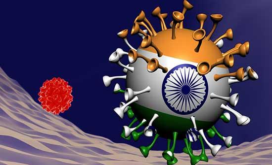اصابة بالمتحور الهندي لبحار هندي بالعقبة